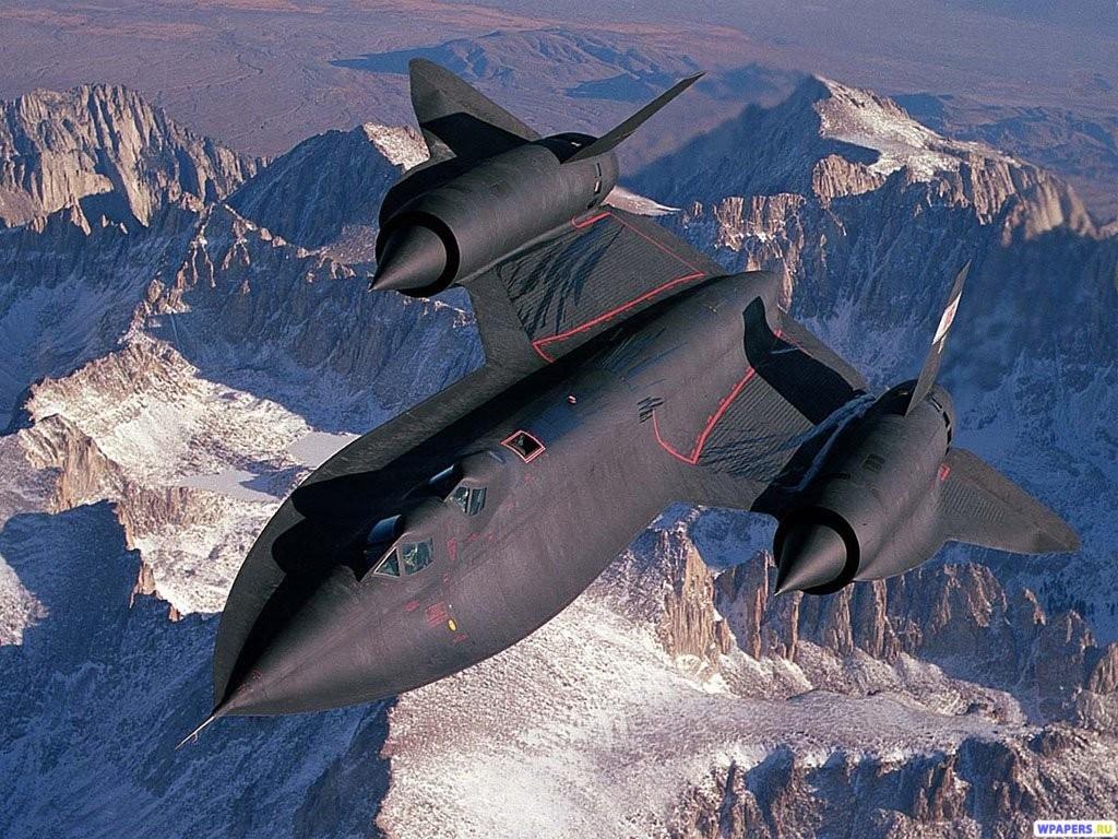 SR-71 BlackBird 1024x768