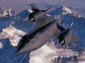 Обои SR-71 BlackBird: SR-71, BlackBird, Истребители
