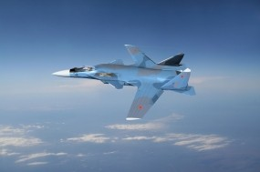 Обои Су-47: Истребитель, Су-47, Истребители