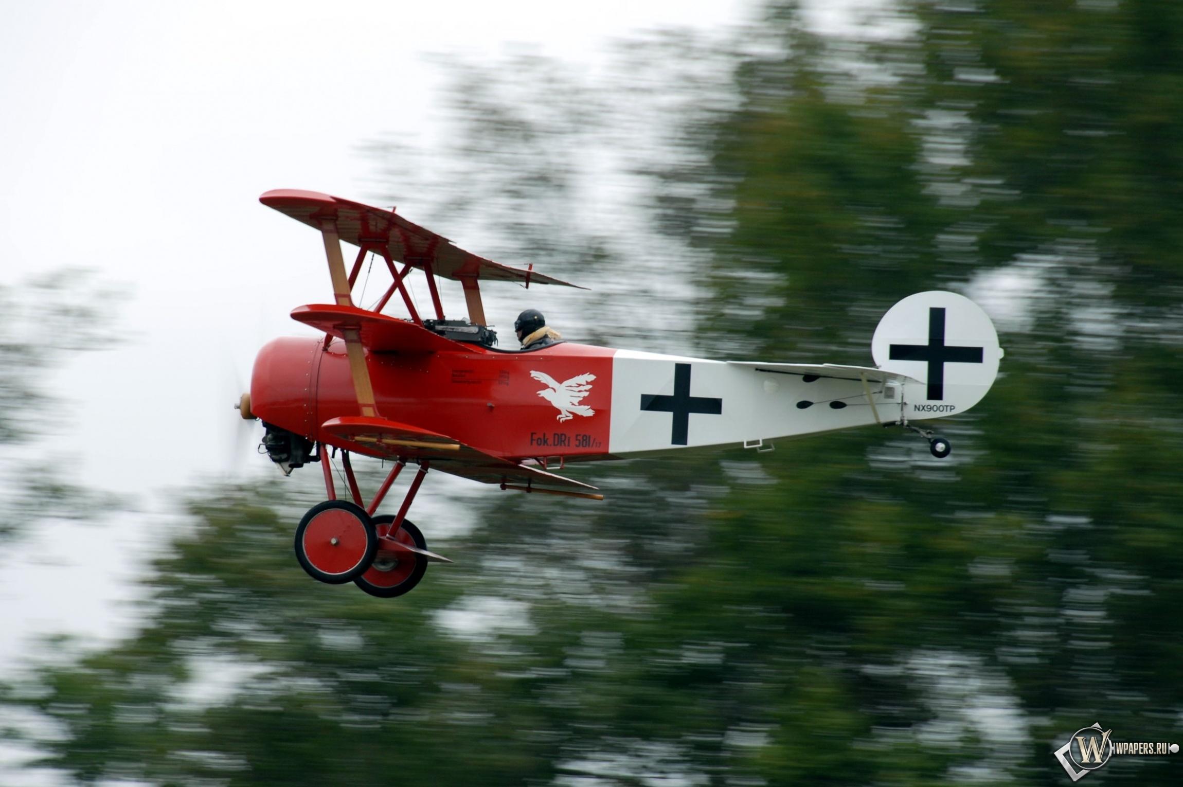 Fokker D-VII DR-1 2300x1530