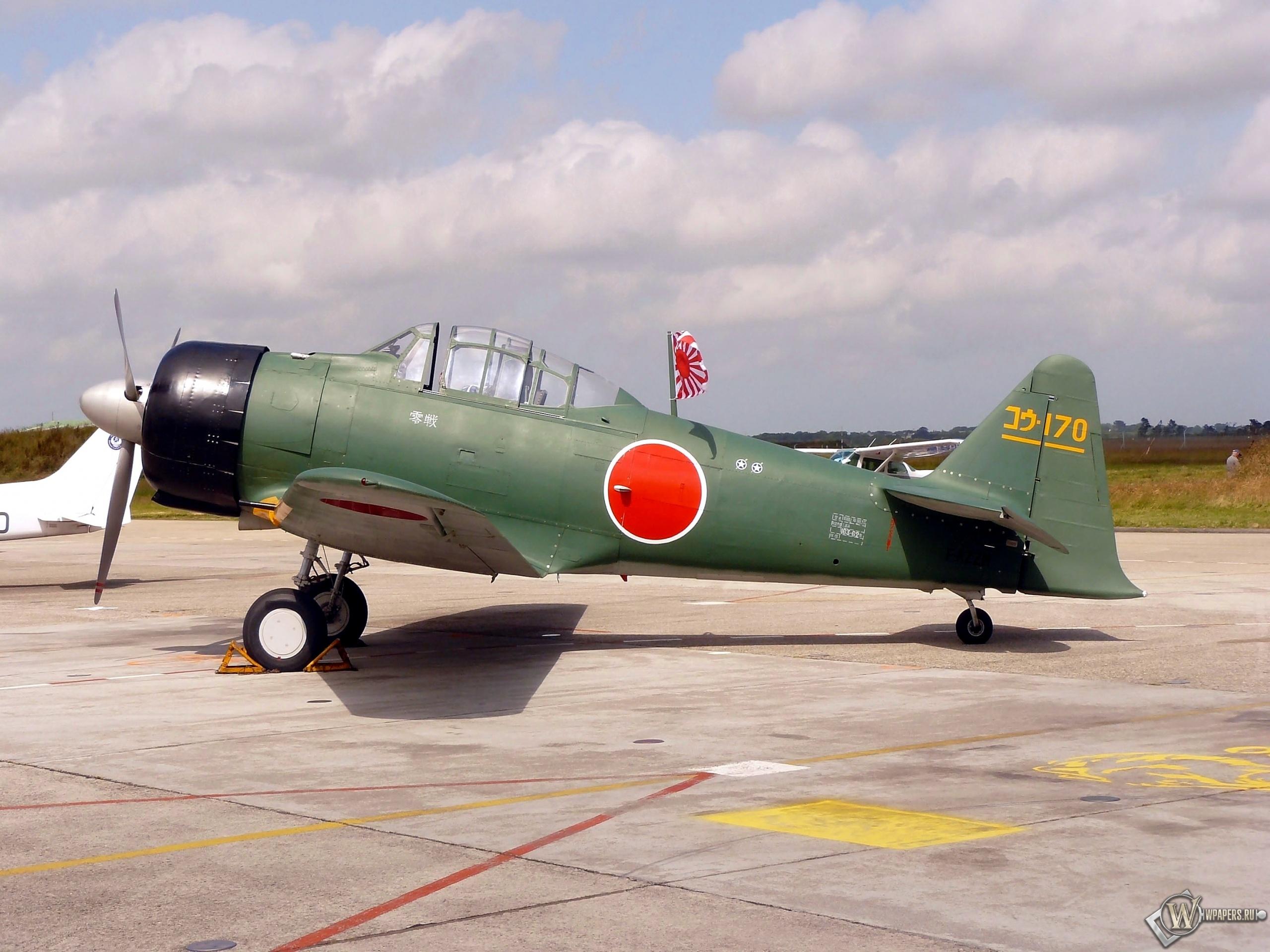 Mitsubishi A6M3 Reisen (Zero) 2560x1920