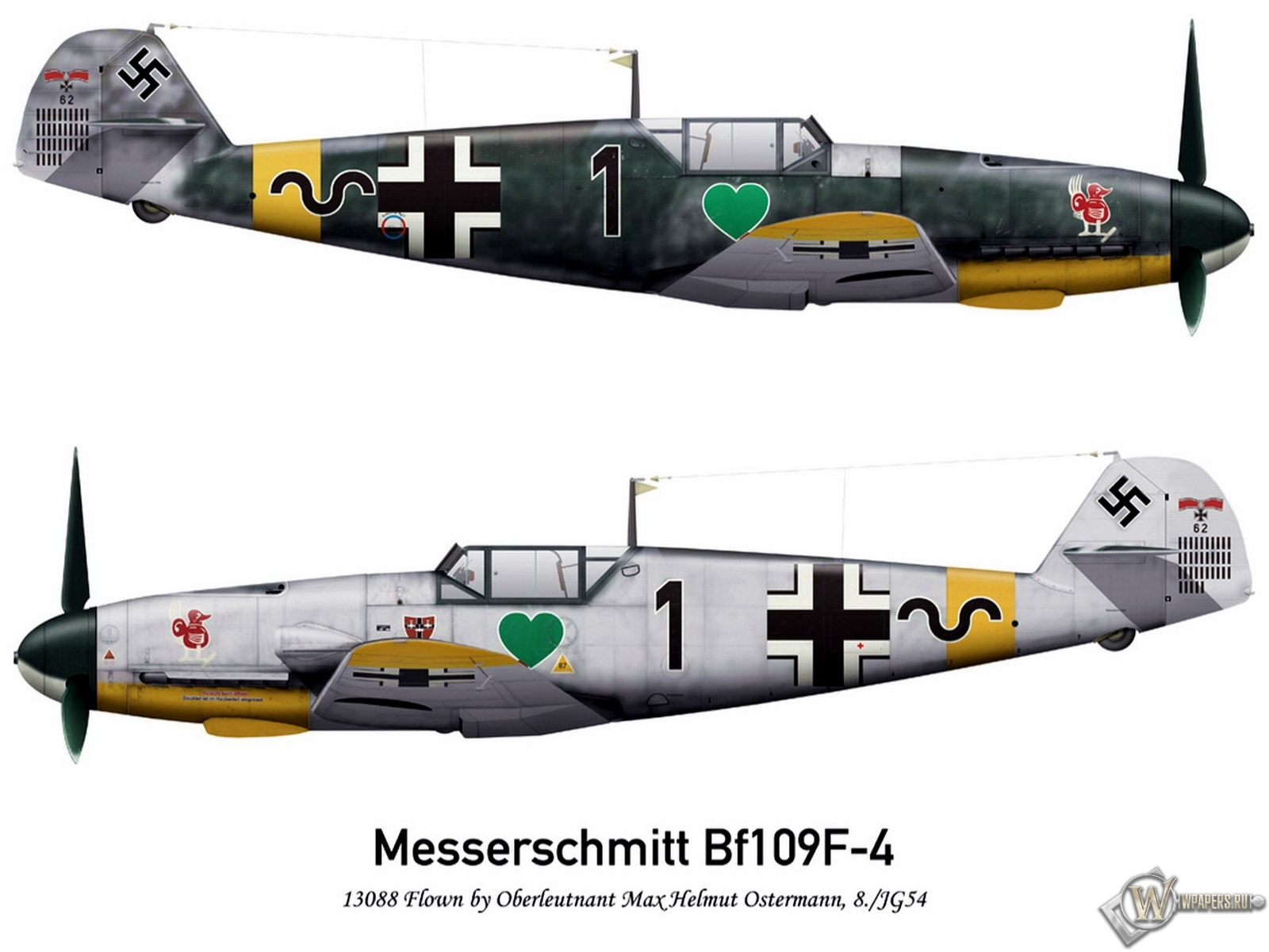 Bf-109F2 JG54 1600x1200