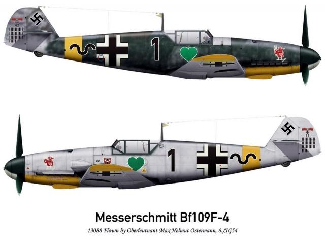 Bf-109F2 JG54
