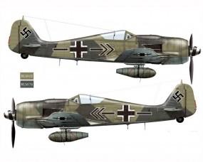 Обои Fw-190A8-JG2: Истребитель, Истребители