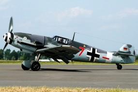 Обои Messerschmitt Bf-109: Истребитель, Messerschmitt Bf-109, Истребители