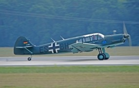 Обои Messerschmitt Bf-108 Taifun: Истребитель, Messerschmitt Bf-108 Taifun, Самолеты
