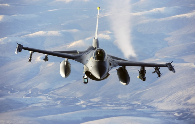 Истребитель F16 Fighting Falcon