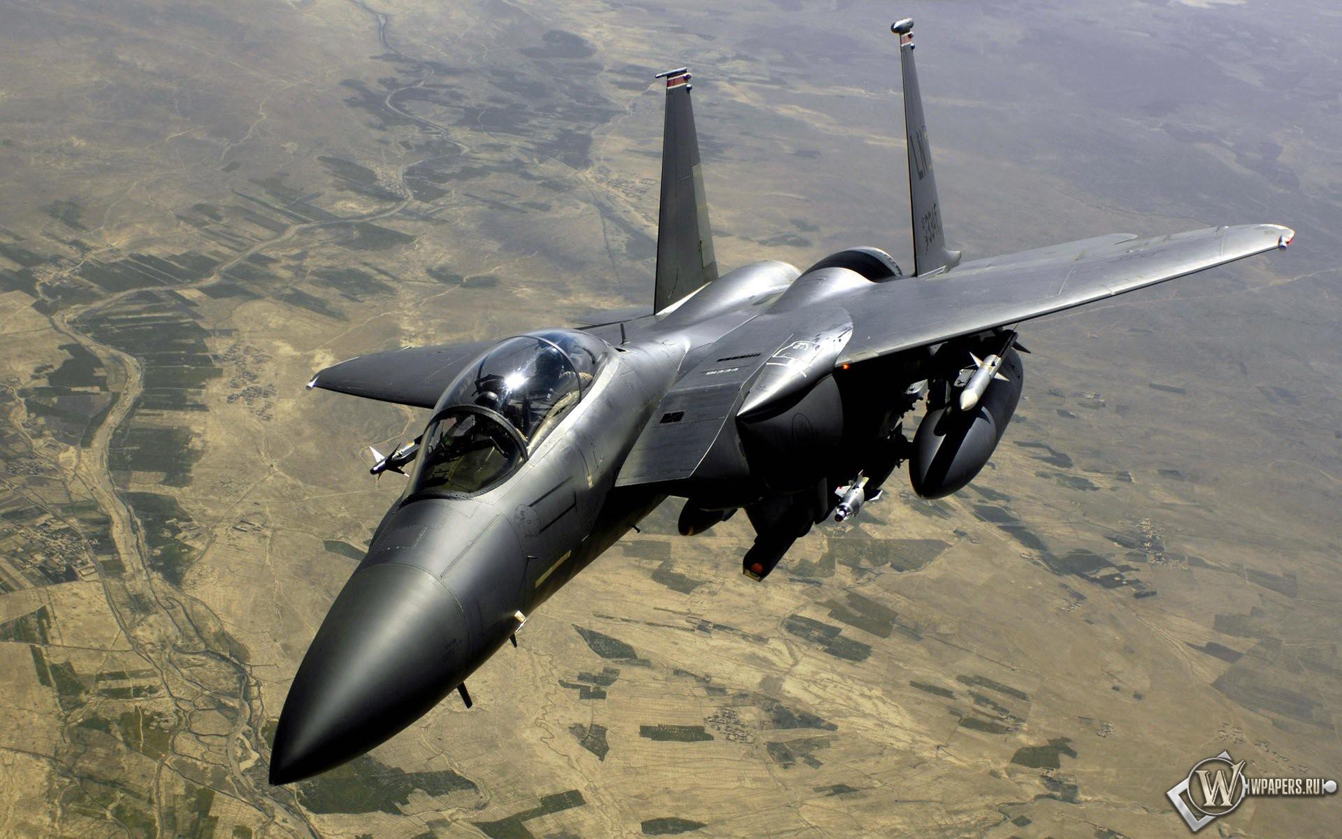 Истребитель F15 1920x1200