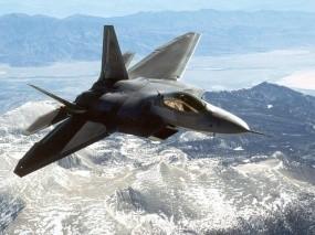 Обои F-22: Истребитель, F-22, Истребители