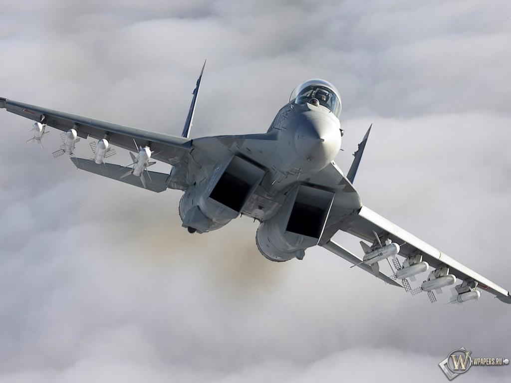 Самолеты миг 29 воздух 1024x768 картинки