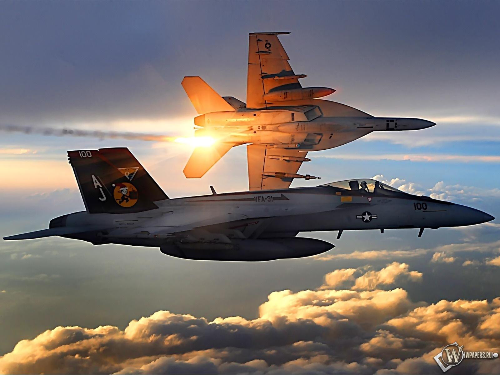 FA-18 Super Hornet  1600x1200