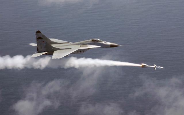 МИГ-29 Пуск ракеты