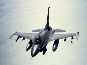Обои Истребитель F-16: ВМФ США, Самолёт, Fighter, F-16, Истребители