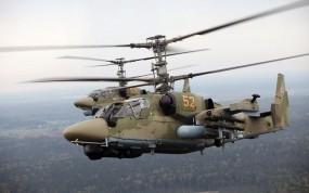 Обои Ка-52: Вертолет, Авиация, Вертолёты