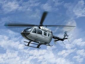 Обои Eurocopter EC145: Вертолет, Небо, Воздух, Вертолёты