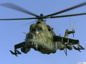Обои Вертолет МИ-24Д: Вертолет, Ми-24, Вертолёты