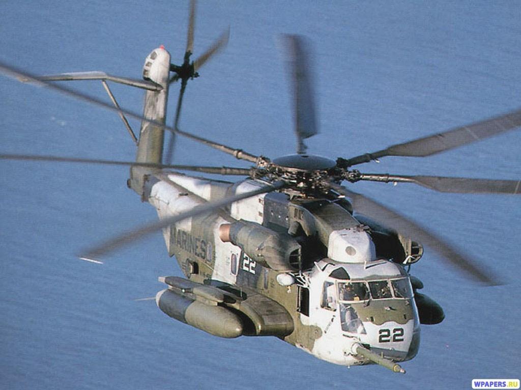 Пассажирский вертолет 1024x768