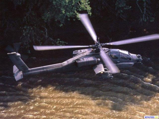 Вертолет AH-64D