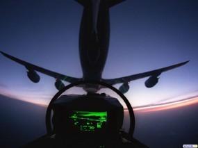 Обои Из кабины пилота: Кабина, Прочая авиация
