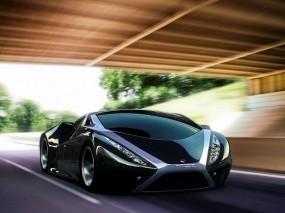 Обои автомобиль будущего: 3D авто, Будущее, 3D Авто