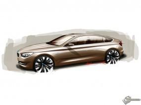 Обои BMW Concept 5 Series Gran Turismo: BMW 5, 3D Авто