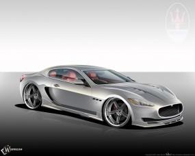 Обои Maserati GT Sport Concept: Maserati GT, 3D Авто