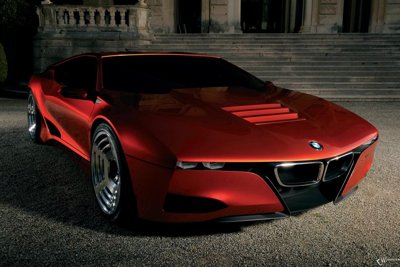 Скачать обои BMW M1 Homage (BMW, BMW M1, Красное авто) для рабочего стола 1500х1000 (25:16
