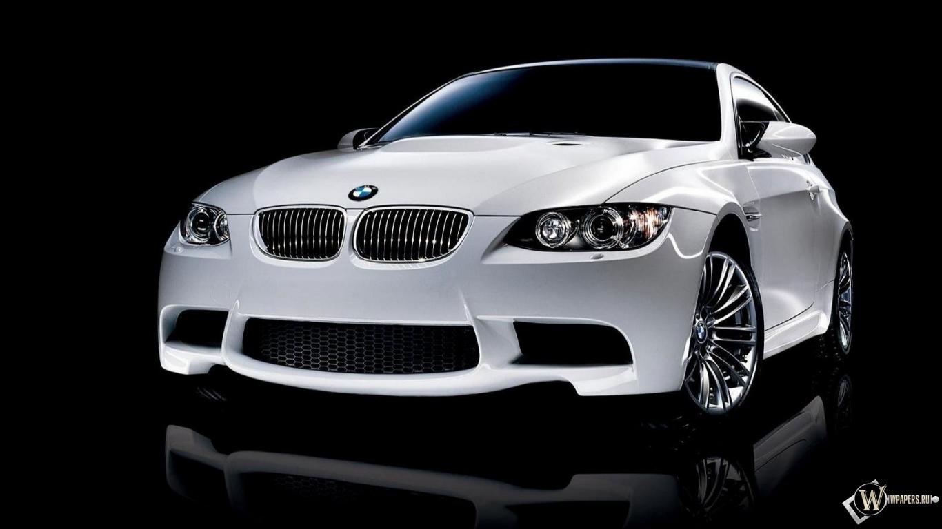 Скачать обои BMW M3 для рабочего стола 1366х768 (16:9 ...