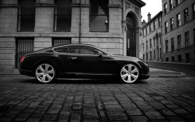 Обои Bentley Continental GT-S 2008: Bentley Continental GT, Bentley