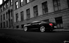 Обои Bentley Continental GT-S: Bentley Continental GT, Bentley