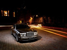 Bentley Arnage Front Angle