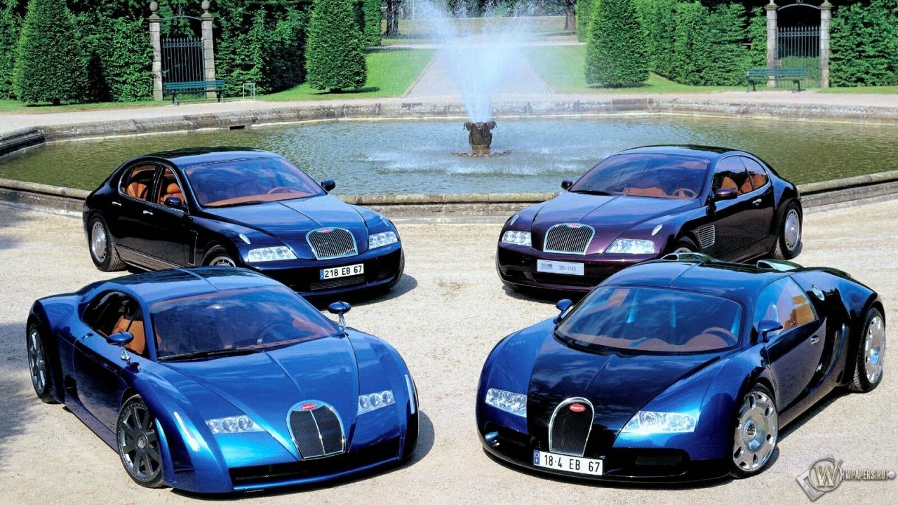 Bugatti обои рабочего стола