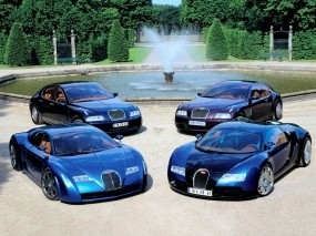 Машины Bugatti
