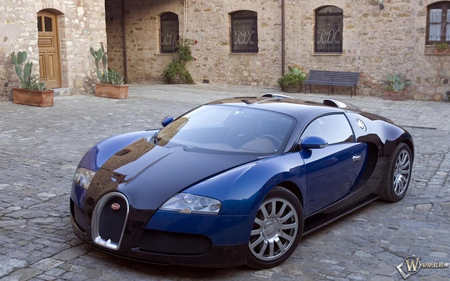 bugatti veyron blue car bugatti veyron 1536 960 16 10. Black Bedroom Furniture Sets. Home Design Ideas
