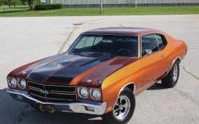 Обои 1970 Chevrolet Chevelle SS: Chevrolet Chevelle, Muscle Car, Chevrolet
