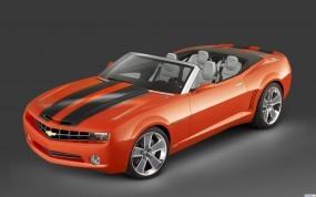 Обои Chevrolet Camaro Convertible Concept: Кабриолет, Шевроле, Chevrolet Camaro, Chevrolet