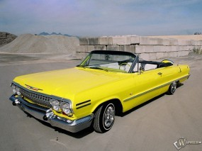 Обои Chevrolet Impala 1967: Кабриолет, Chevrolet Impala, Chevrolet