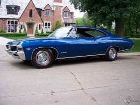 Обои Chevrolet Impala 1967: Chevrolet Impala, Chevrolet