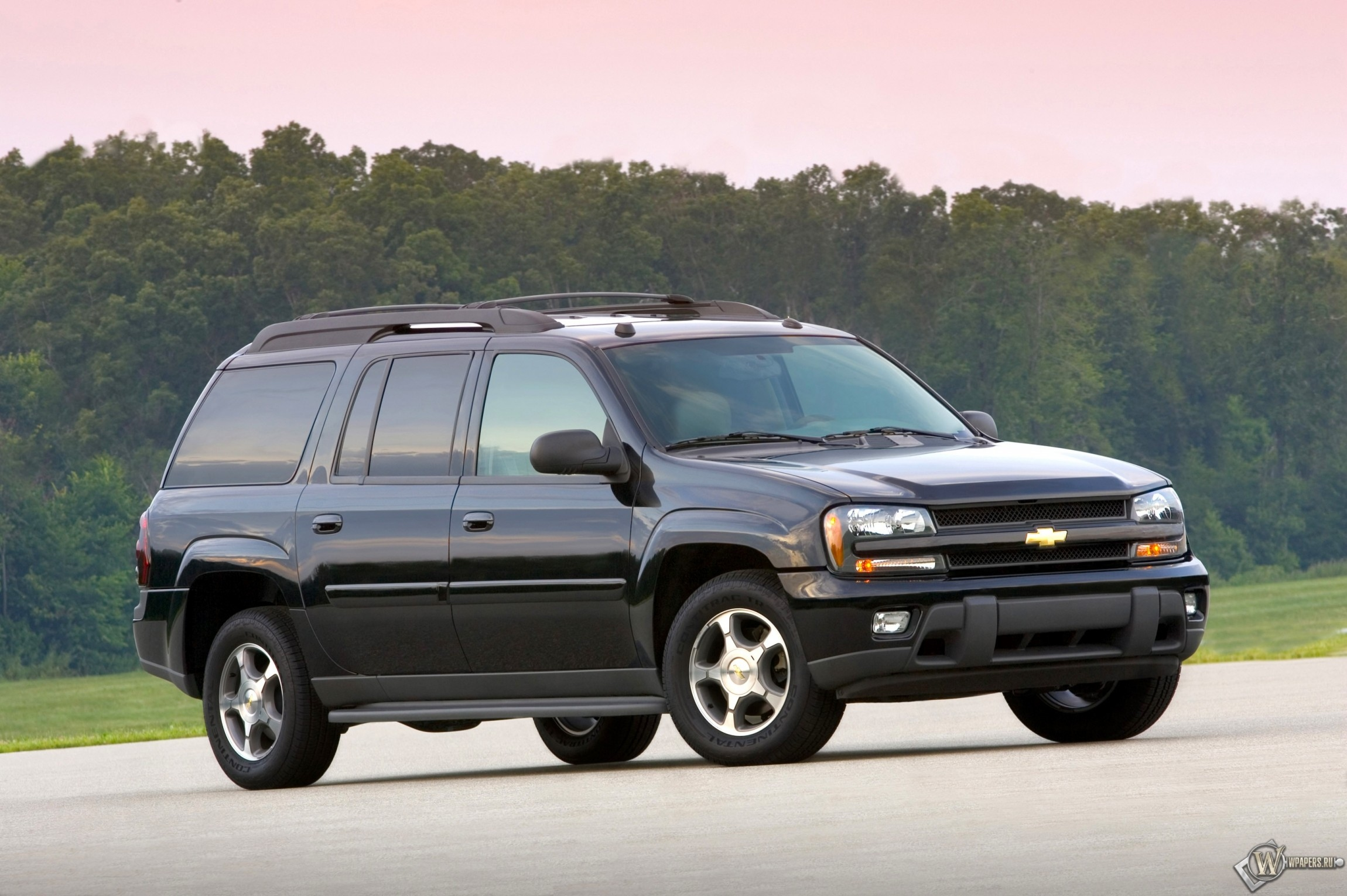 Обои chevrolet trailblazer ext внедорожник chevrolet