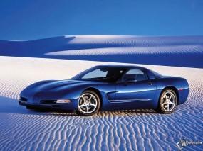 Обои Corvete: Пустыня, Корвет, Авто, Auto, Шевроле, Песок, Chevrolet Corvette, Chevrolet