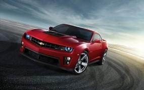 Обои Chevrolet camaro: Красный, Chevrolet Camaro, Chevrolet