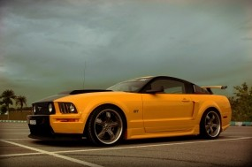 Обои Ford Mustang Shelby: Ford Mustang Shelby, Muscle Car, Ford