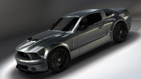 Обои Ford Mustang Shelby GT500: Ford Mustang Shelby, Тюнинг, Мустанг, Металик, Ford