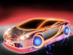Огненный Lamborghini
