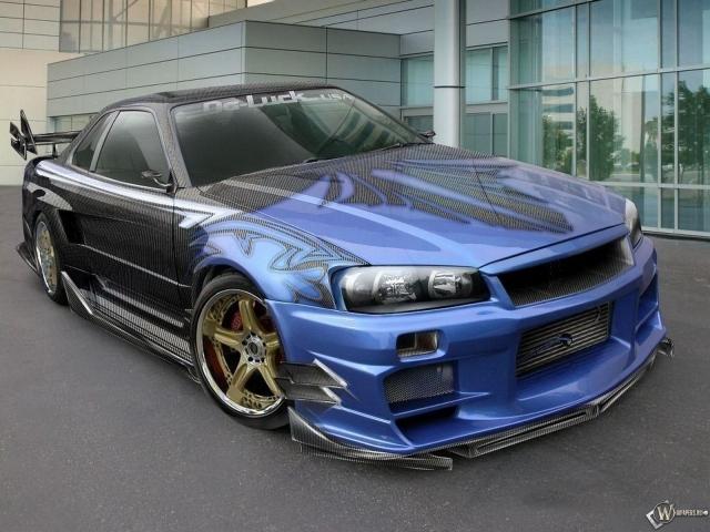 Nissan skyline gt r фото