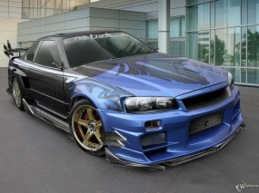 Pictures Nissan on Nissan Skyline Gt R  Nissan Skyline   Wpapers Ru  Wallpapers