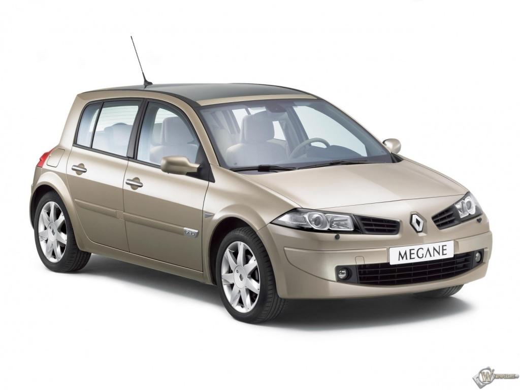 Renault megane белый красавец