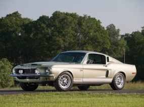 Обои Shelby GT500 KR 1968: Ford Mustang Shelby, Ретро автомобили