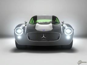 Обои Mercedes-Benz 300 SL Panamericana Design Concept: Кабриолет, Mercedes, Ретро автомобили