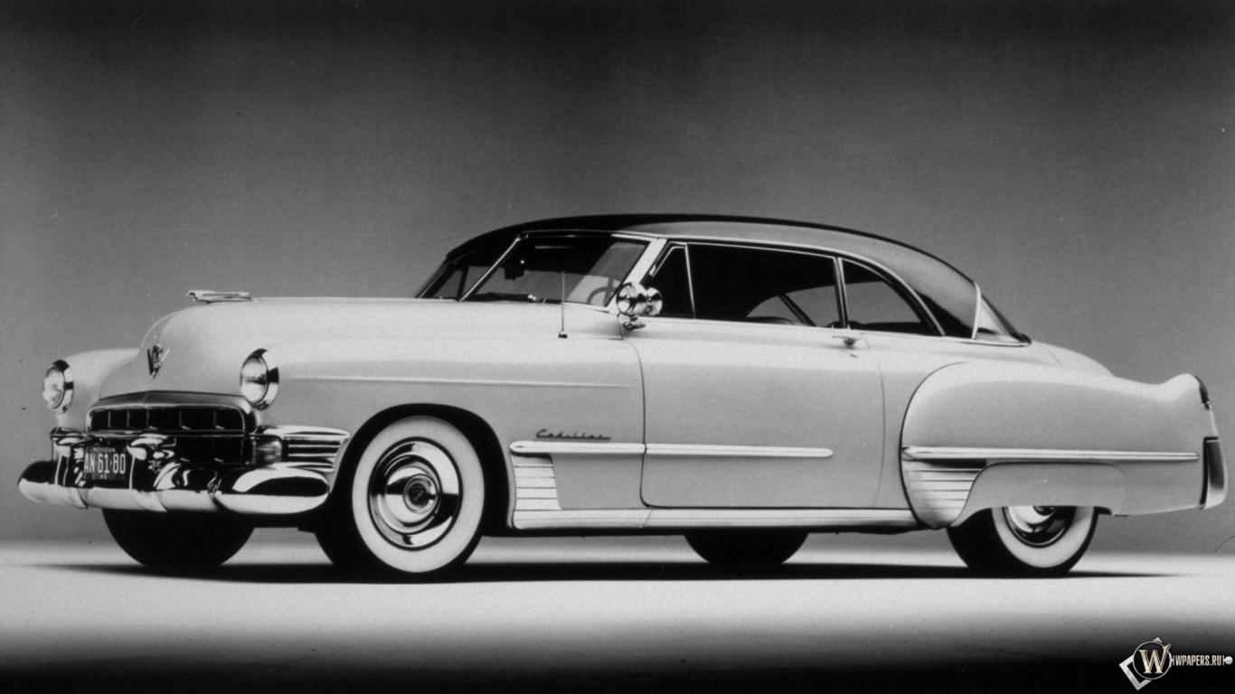Скачать обои Cadillac Coupe Deville 1949 Cadillac